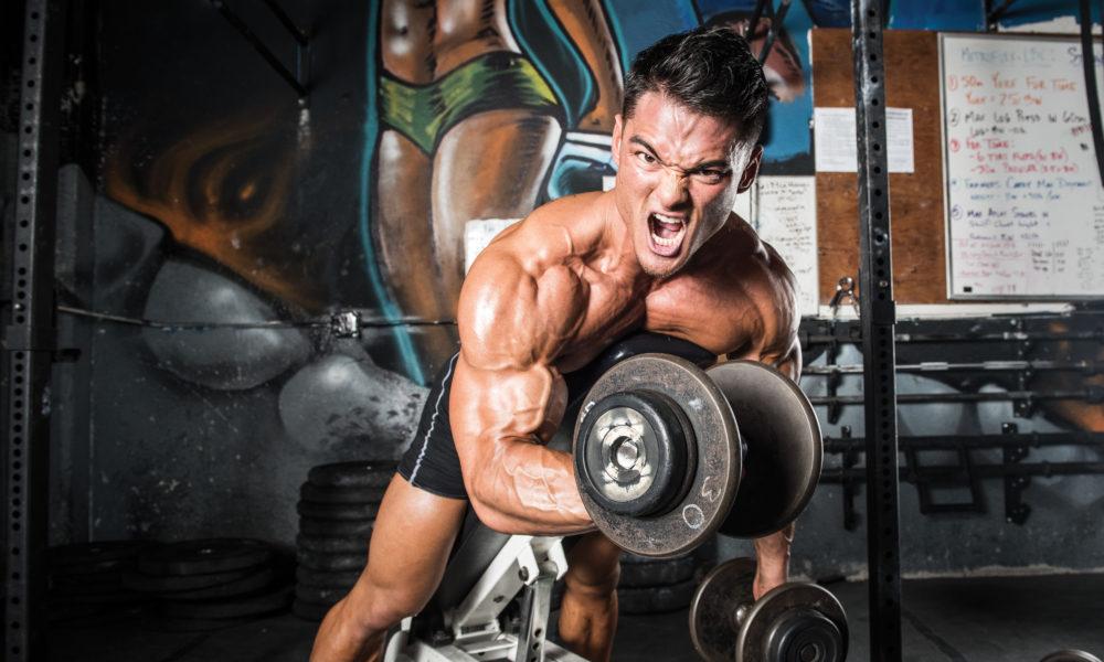 Back And Biceps With Jeremy Buendia Iron Man Magazine